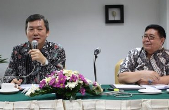 Direktur PT Global Expo Management (GEM Indonesia), Baki Lee. [Dok Tabloid Maritim]