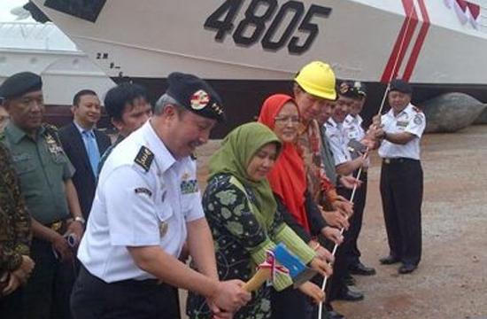 Basarnas meluncurkan 3 kapal baru. Satu unit di antaranya dibangun PT Karimun Anugerah Sejati yang akan dioperasikan di perairan Kepri.
